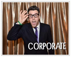 corporate photo booth - layout