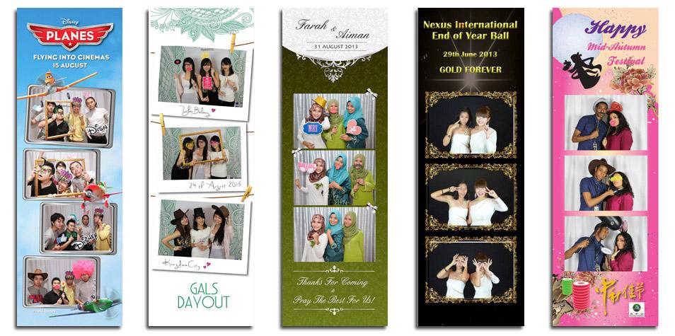 Photo Strip Layout Design