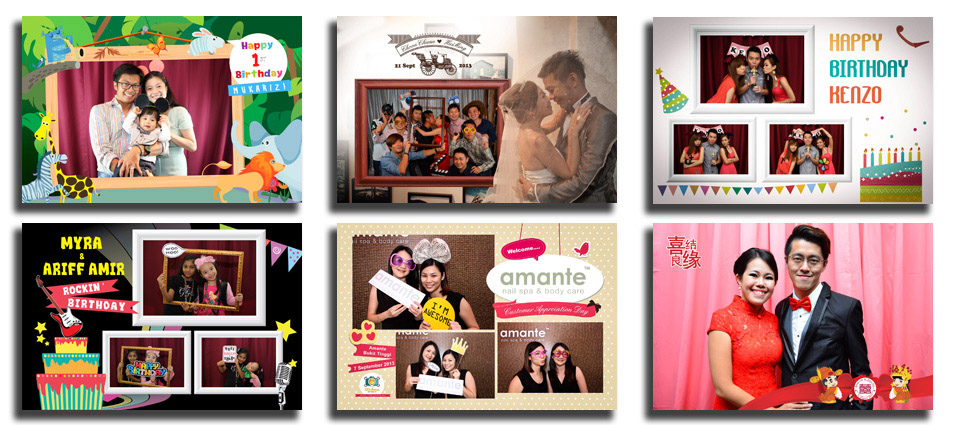 Photo Booth Layout Design