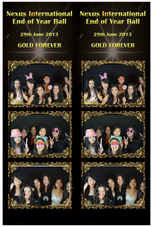 "Nexus International School End of Year Ball – ""Gold Forever"""