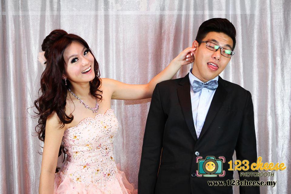 Chee Wan & Cecilia Wedding Photo Booth