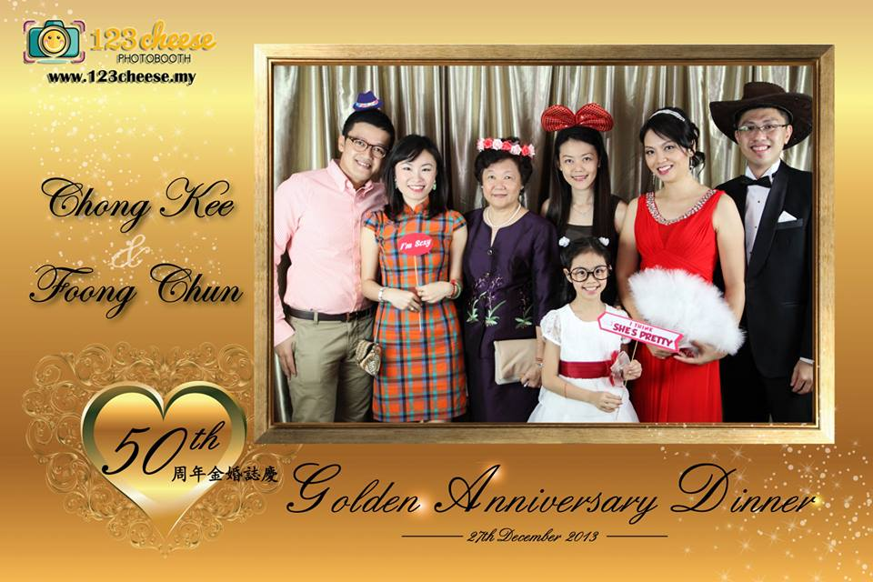 50th Golden Anniversary Dinner (Chong Kee & Foong Chun)