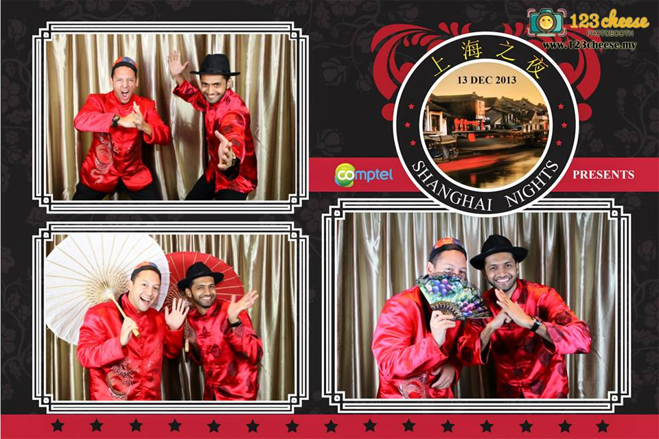shanghai night theme - photo booth rental malaysia