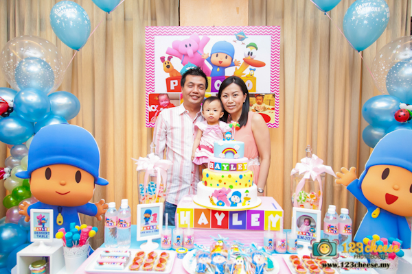 Baby S One Year Old Birthday Celebration Pocoyo Theme