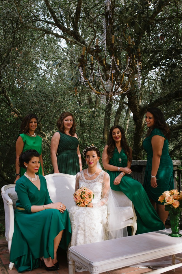 Emerald Green Themed Wedding