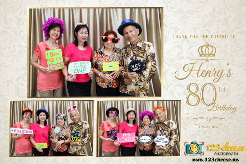 Henry's 80th Birthday Celebration