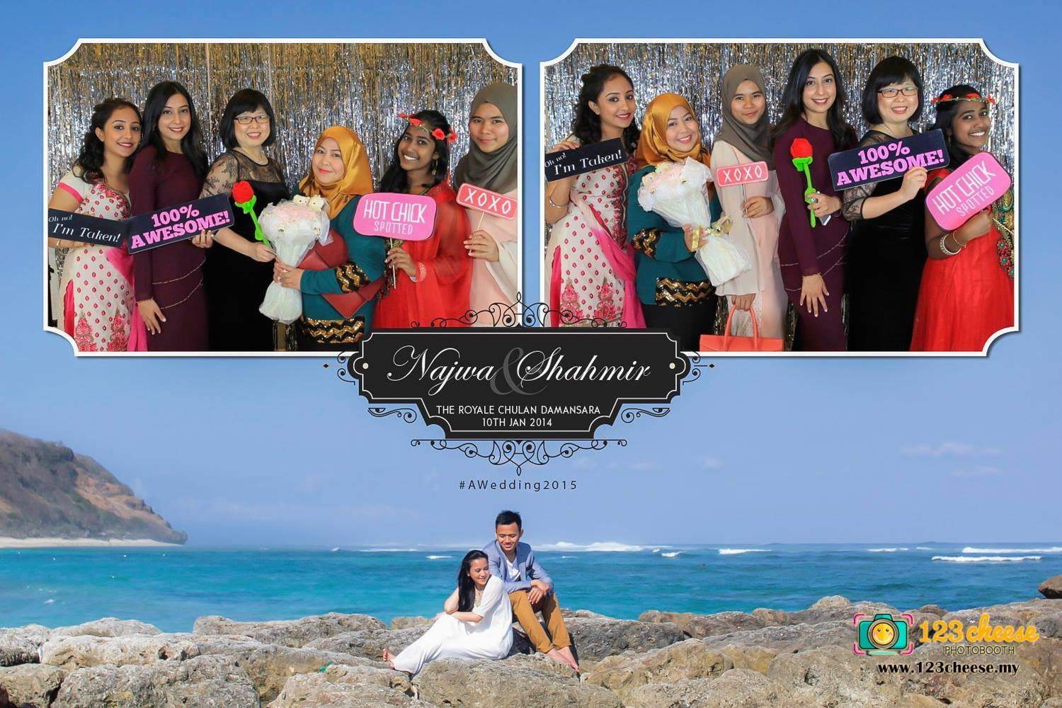 Najwa & Shahmir Wedding