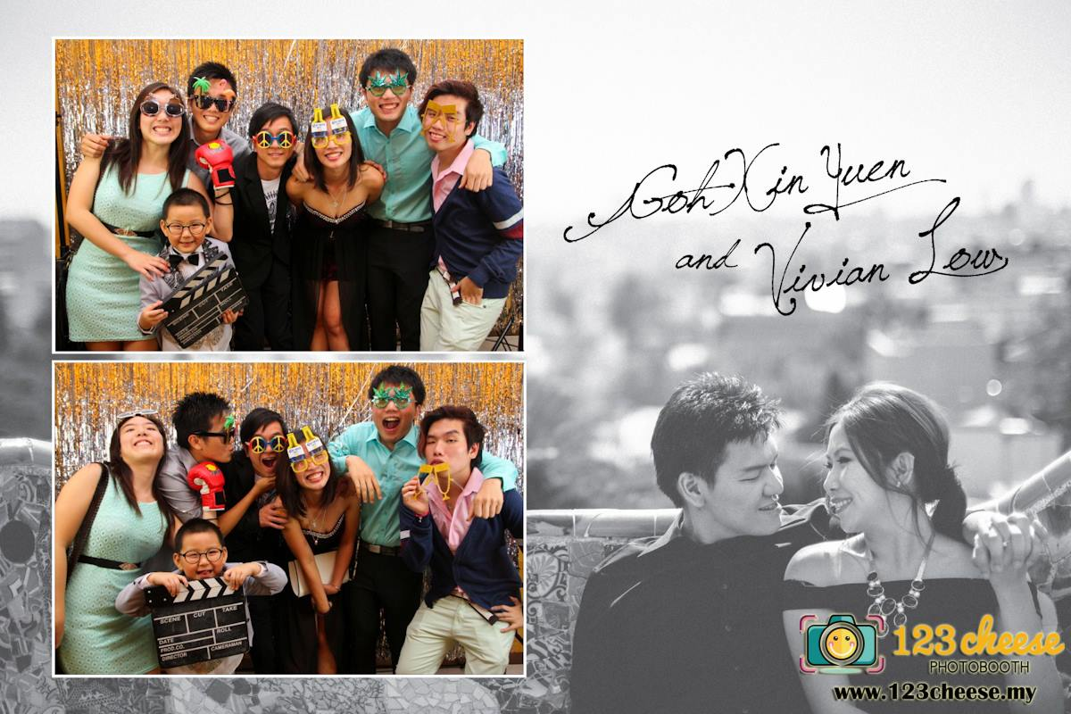 Goh Xin Yuen & Vivian Low Wedding