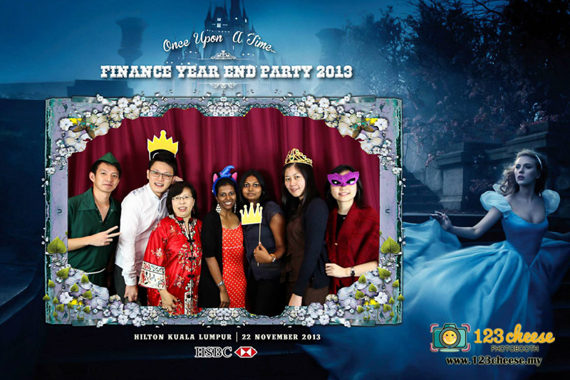 HSBC Finance Year End Party 2013