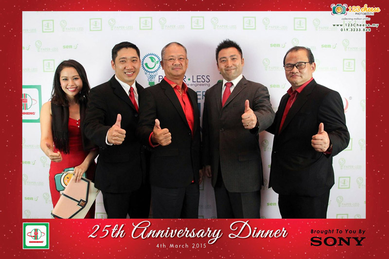 Senheng 25th Anniversary Dinner