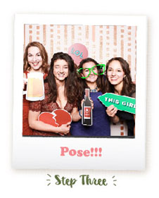 Wedding Photo Booth - Pose