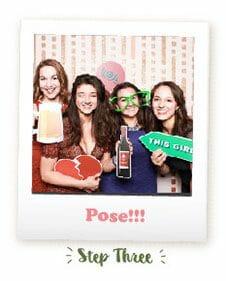 Wedding Photo Booth - Pose