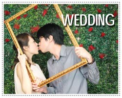 wedding photo booth - layout