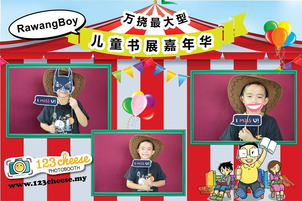 Rawangboy Children's Book Fair Carnival