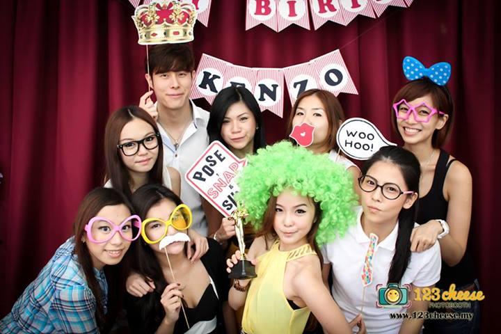 Kenzo Birthday Party
