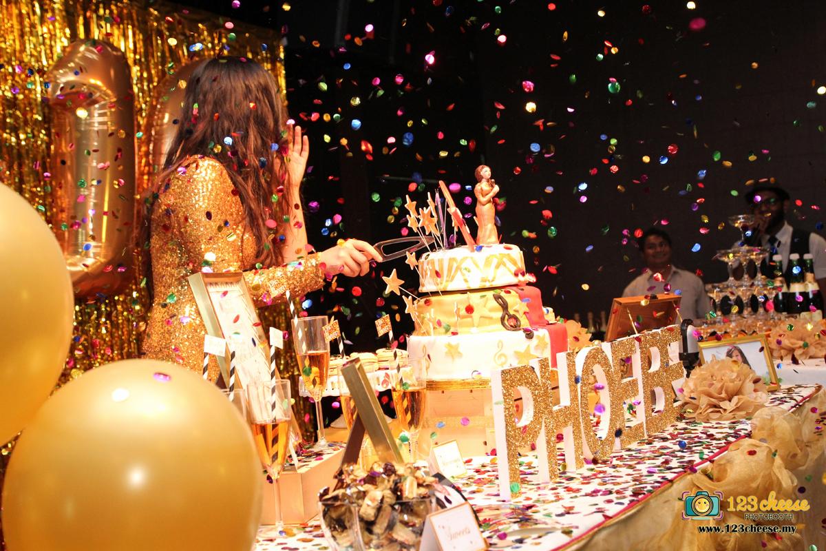 Phoebes Sweet 16 Birthday Party