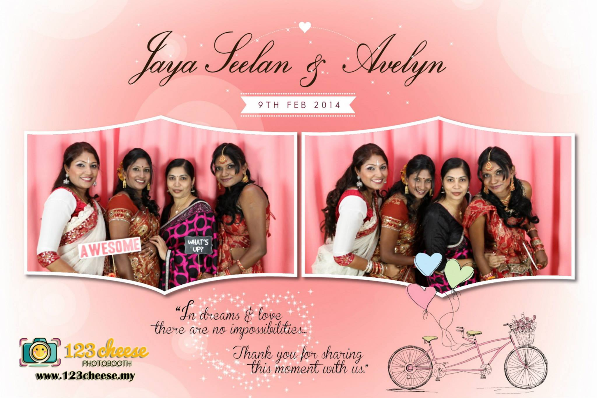 Jaya Seelan & Avelyn Wedding Dinner