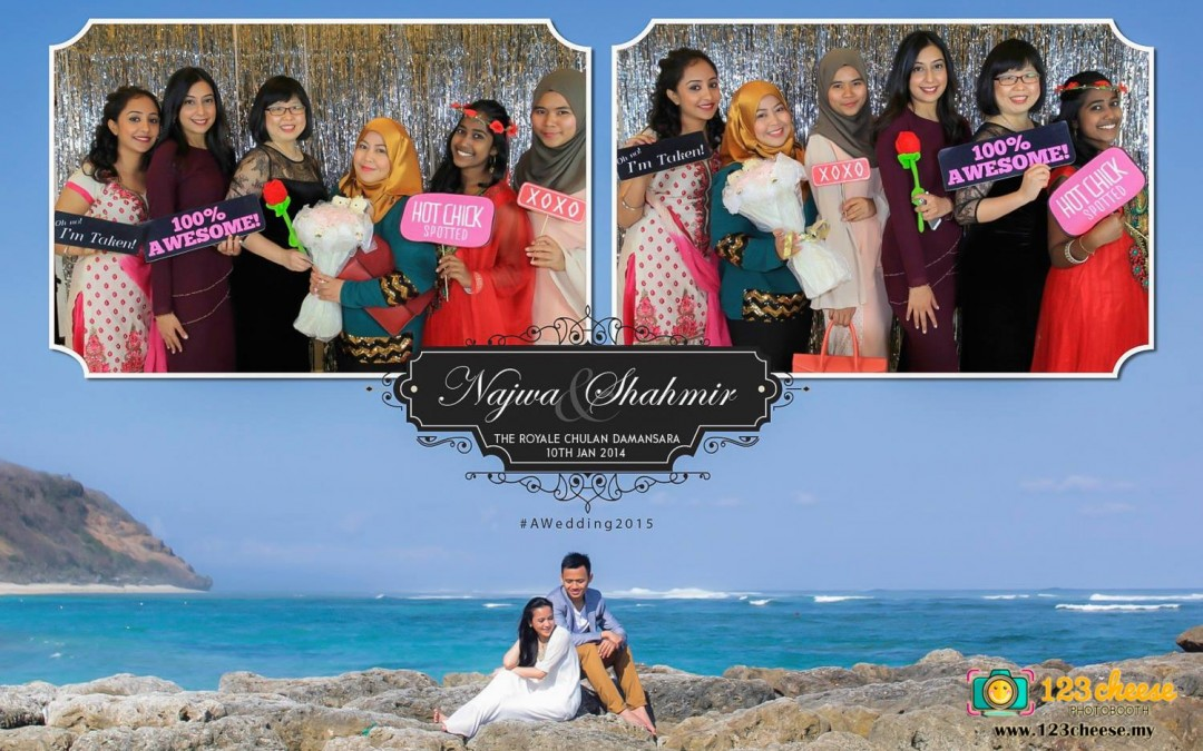 Najwa & Shahmir Wedding