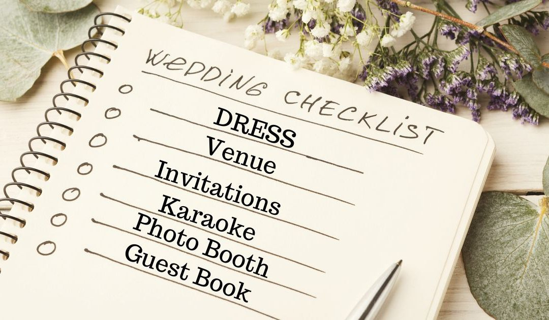 Include This In Your Wedding Checklist For The Best Party Ever