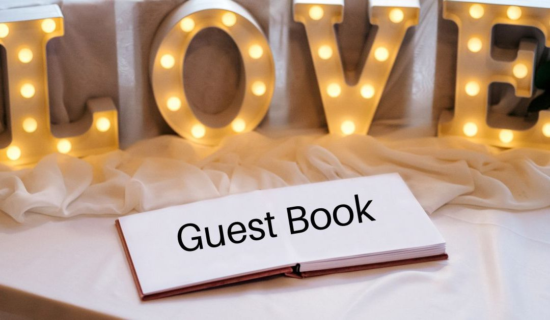 Keep the Best Wishes with Wedding Guest Book