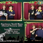 Taylor's 《Rainforest World Music Festival Preview 2013》