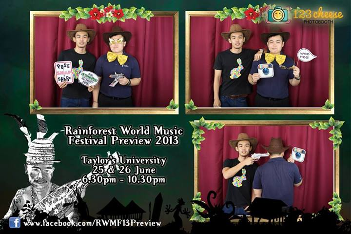 Taylor's 《Rainforest World Music Festival Preview 2013》