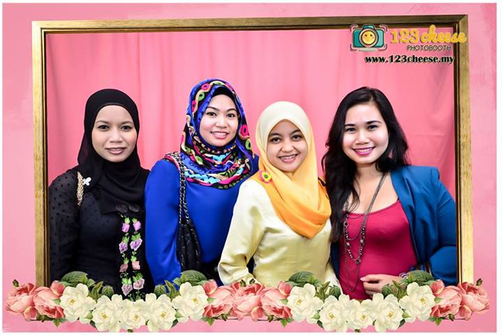 Danone Dumex Malaysia Red Blossom Night Photo Booth
