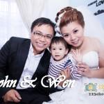 John & Wen Wedding Day