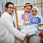 Farah & Aiman Wedding Day