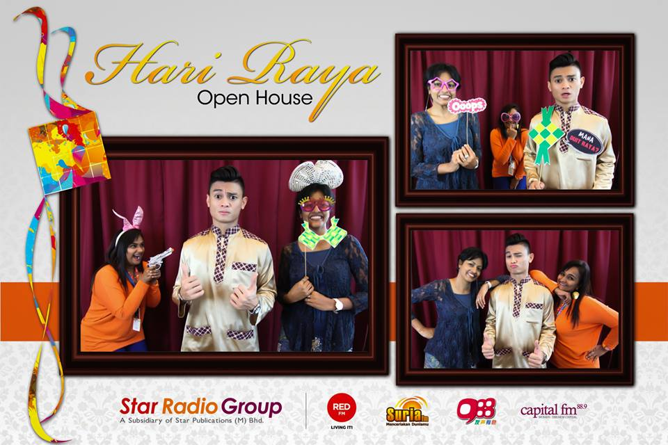Celebrate Your Raya With US Cheese PhotoBooth Malaysia - Photo booth design templates