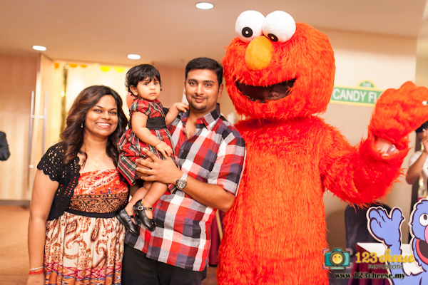 Sesame Street Themed Birthday Party