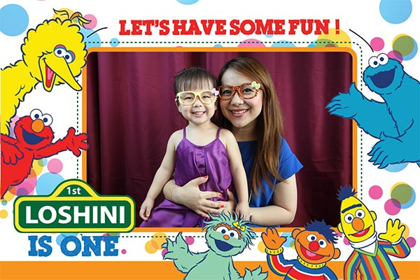 Fun Photo Layout Design For Birthday Photo Booth Malaysia