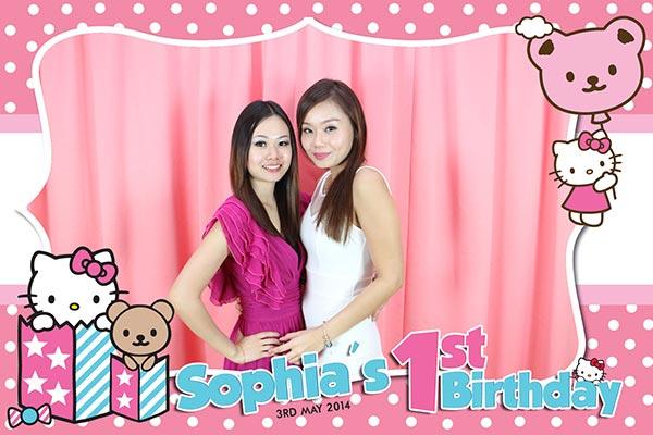 Fun Photo Layout Design For Birthday Photo Booth Malaysia