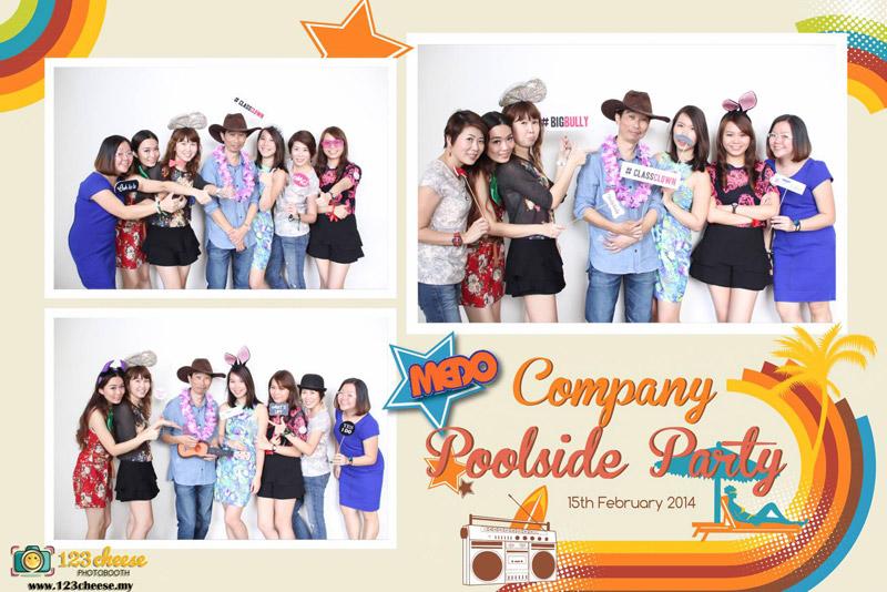 Medo Company Pool Party 2014