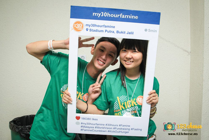World Vision Malaysia 30 Hour Famine Countdown 2014 Event Photos