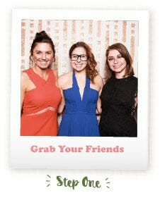 Wedding Photo Booth - Grab Your Friends